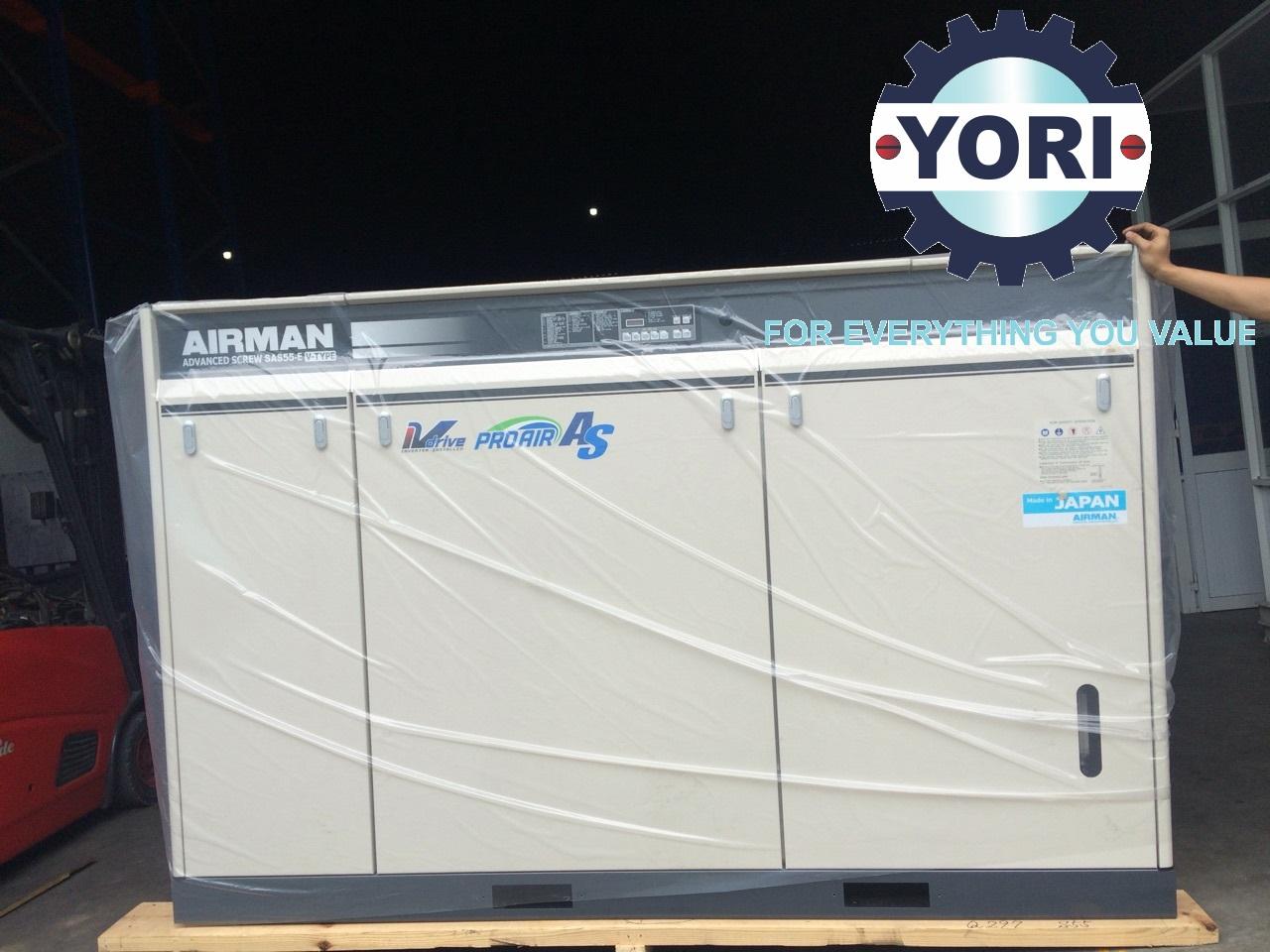 Vận hành máy nén khí biến tần AIRMAN SAS55V