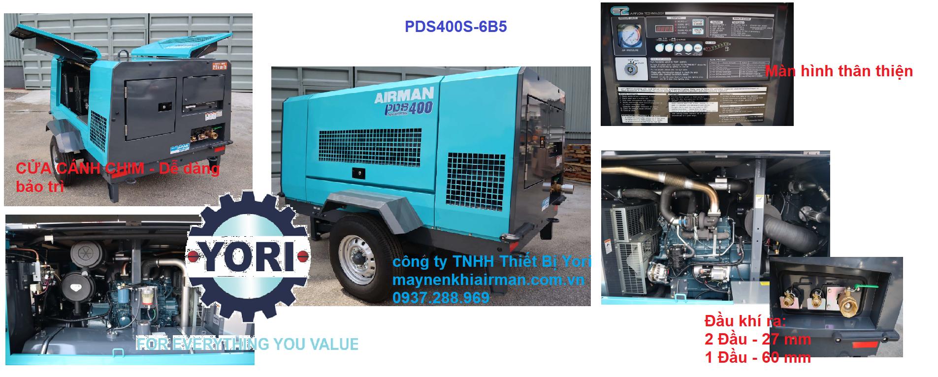 PDS400S-6B5 sự cải tiến từ PDS390