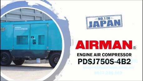 Máy nén khí AIRMAN – PDSJ750S-4B2